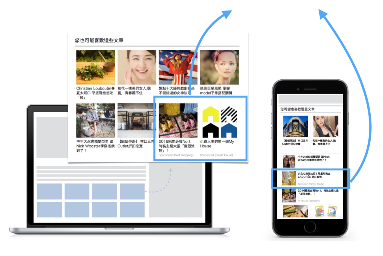 台湾本地信息流平台大全,Line广告,popin,Dable等营销